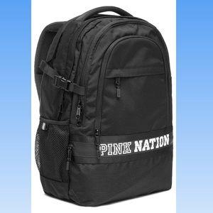 EUC PINk collegiate backpack